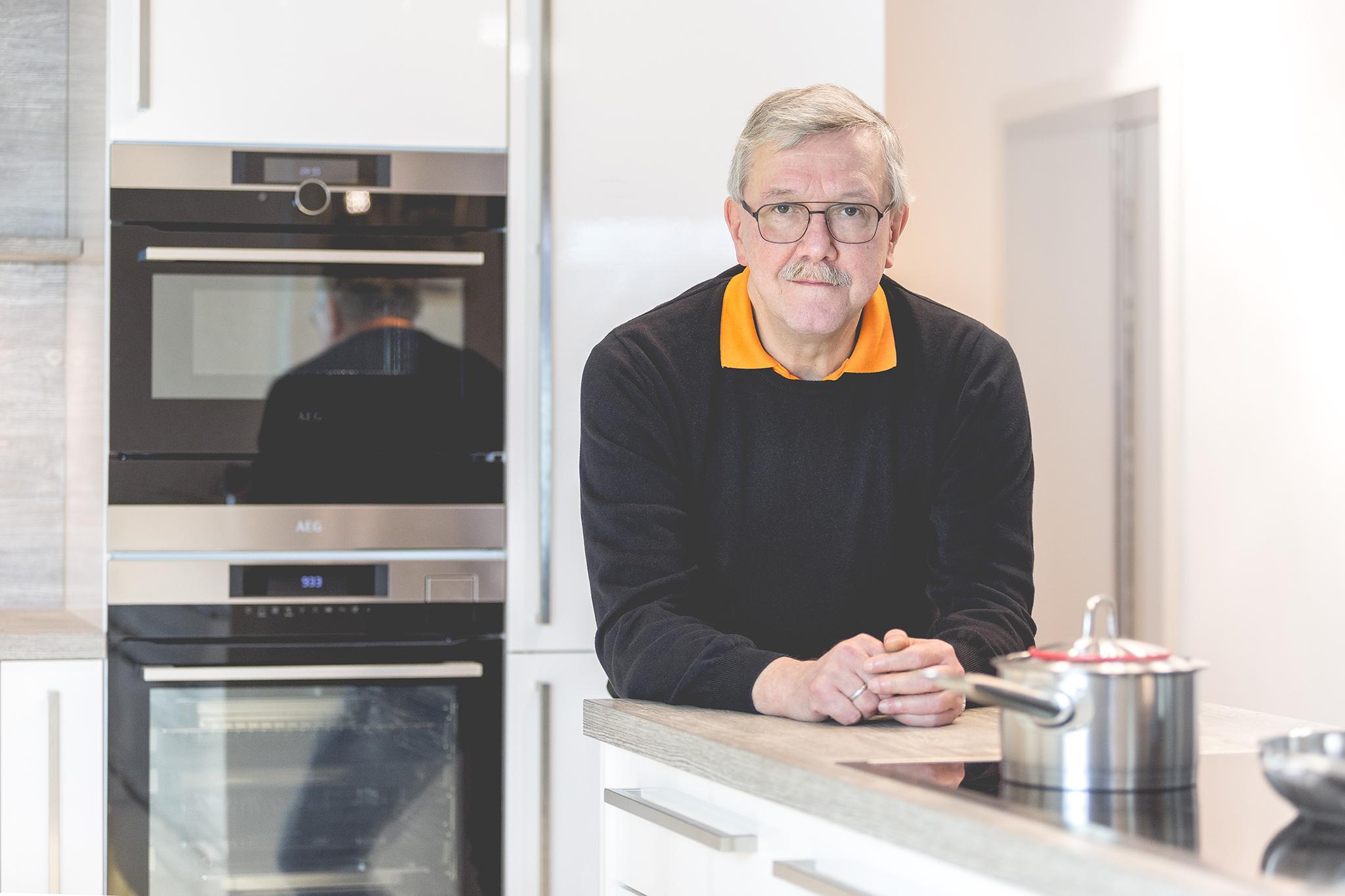 Wilfried Kunze, Küchenpraxis Kelkheim © Johannes Willwacher (www.johannes-willwacher.de)